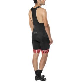 GORE WEAR C5 Optiline Bib Shorts Men black/red